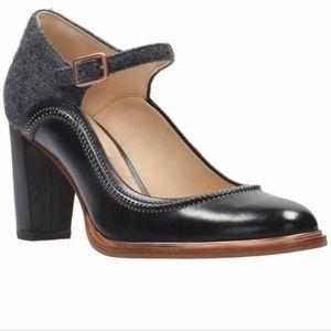 Clarks Ellis Mae Mary Jane Heels Like New Size 9
